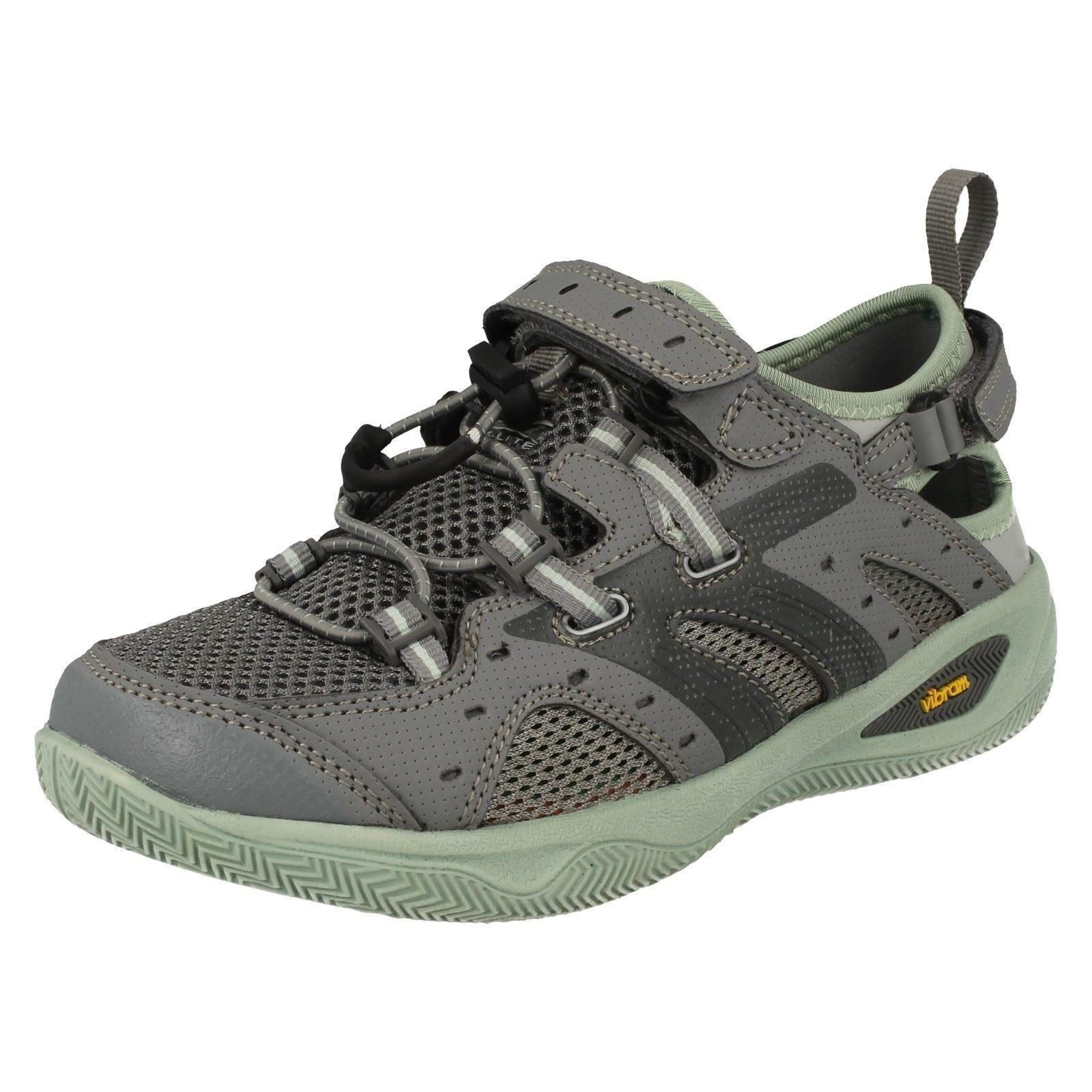 Ladies Cool Grey/Lichen Hi-Tec Summer Light Weight 1 Trainers V-Lite Rio Play 1 Weight 47381e