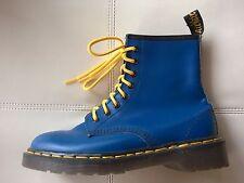 DOC DR MARTENS ROYAL BLUE BOOTS RARE VINTAGE MADE IN ENGLAND UNISEX 5UK US W7 M6