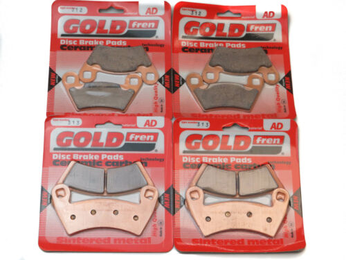 Goldfren Brake Pads Front /& Rear For Polaris 1000 Ranger Diesel 2015