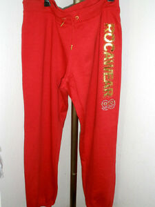 Red Rocawear 69 gold Size 2x W msrp Pants Sweat Nwt Womens xqnITWC