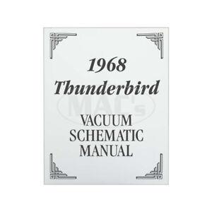 1968 Ford Thunderbird Vacuum Diagram Manual 66-91643-1 | eBay