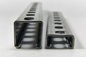 Genuine-Unistrut-Slotted-Channel-Pre-Galv-41-x-41-x-2-5mm-41-x-21-x-2-5mm