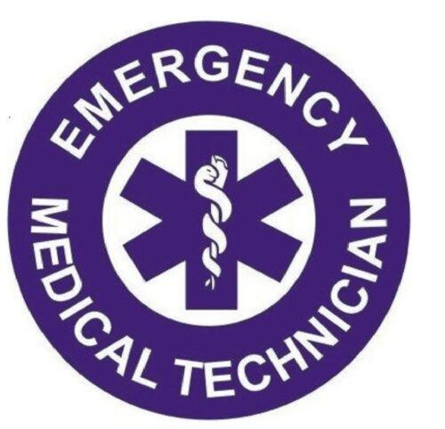 EMT Emergency medical Technician Hard Hat Decal Hardhat Sticker Helmet H153