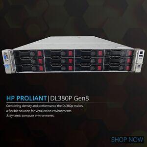 HP-DL380p-G8-Xeon-Eight-8-Core-16GB-RAM-12x-3-5-034-P420-1GB-ProLiant-Rack-Server