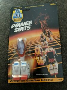 TONKA GOBOTS GBP4 POWER SUITS ARMOR FOR RENEGADE GOBOTS MADE IN JAPAN 1985