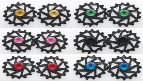 J/&L 16T Oversived Ceramic Derailleur Pulley Fit SRAM XX1,X01 X1,GX,NX,X9,XX,X01