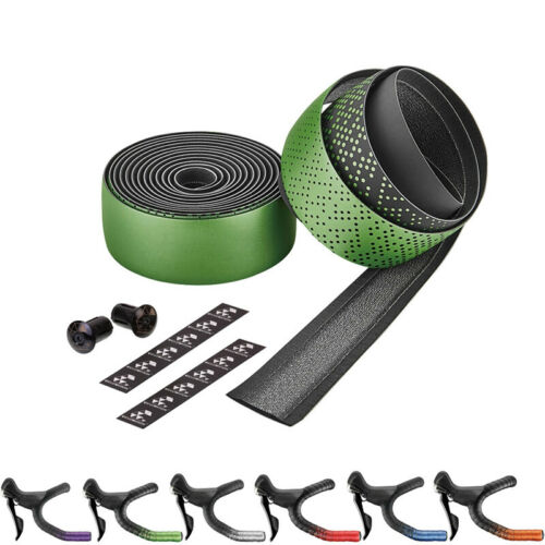 Ciclovation Advanced Road Bicycle Handlebar Bar Tape With Leather Touch-Shinning