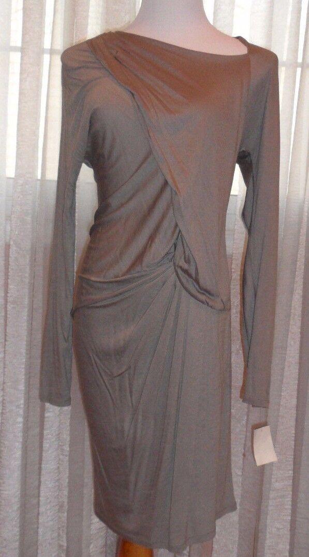 Anne Val järnväg5533,65533;rie Hash Anna -Valerie Fab Damer Drapped elegant Comfortable Fabric Dre
