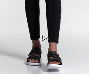 Women's Adidas 90s Sandals BLACK SIZE 8