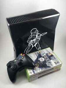 Lot Microsoft Xbox 360 250GB Black Console S Model 1439 -8 ...