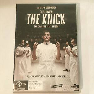 THE-KNICK-SEASON-1-DVD-3-DISCS-CLIVE-OWEN-R-RSATED-R4-VGC-FREE-POST
