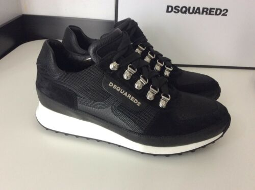 Hommes et Noir Eu39 Trainers Blanc Uk Runners Dsquared2 Nouveau Ds2 Sneakers 5 58xqwz78HB