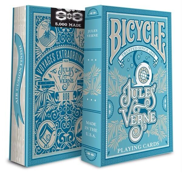Bicycle Jules Verne  Deck Playing Cards - Limited Edition - SEALED