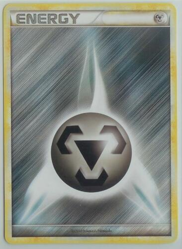 POKEMON TCG CCG HGSS HS Unleashed MINT Common Basic no# METAL ENERGY card