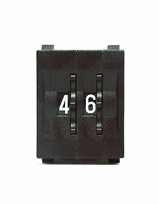 10set Thumbwheel BCD Switch 2-Digit + Cap TF31 GTF311221 0~9 Scal H=33mm Hampolt