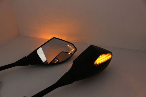 Turn Signal Integrated Mirrors LED light For Honda CBR600RR 2003-2017 CBR1000RR