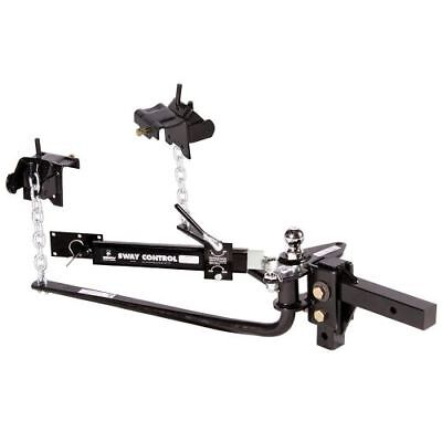 501 lb. to 800 lb. Tongue Weight Capacity Husky 31331 Pin Trunnion Bar Weight Distribution Hitch