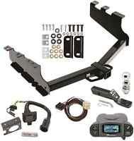 14-17 Gmc Sierra Trailer Hitch Kit W/ Tekonsha Prodigy P3 Brake Control & Wiring