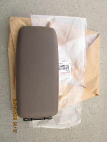 96-98 TOYOTA 4RUNNER SR5 LIMITED CENTER CONSOLE ARM RESTERS LID OAK BROWN NEW