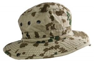 b9854f53ac2 Image is loading German-Army-Tropentarn-Boonie-Hat-Choice-of-Sizes-
