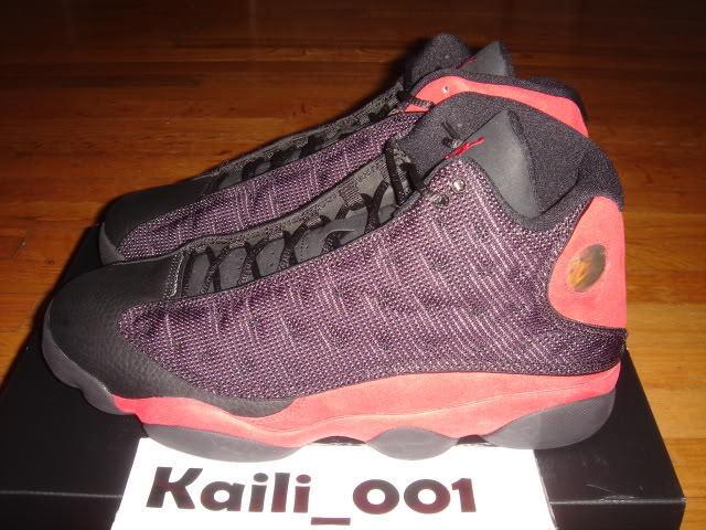 Nike Air Jordan 13 Retro Bred Playoff Bulls Flint OG A