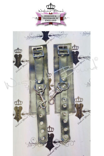 C0134 CUFFS Westward Bound Couture PEARLSHEEN PEWTER O//S RRP £35.02