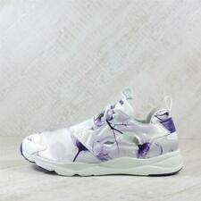 Womens Reebok Furylite Graphic Floral White/Purple Trainers (TGF54) RRP £79.99