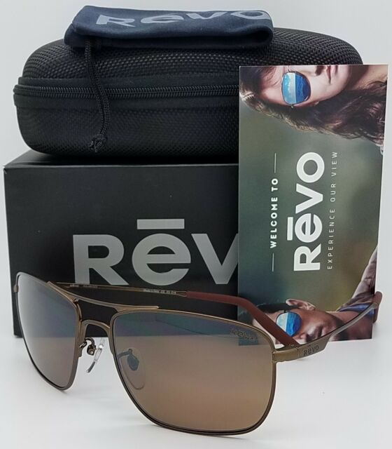 9f272ad91a8 NEW Revo Groundspeed sunglasses RE 3089 GF 03 BR Brown Polarized ground  RE3089
