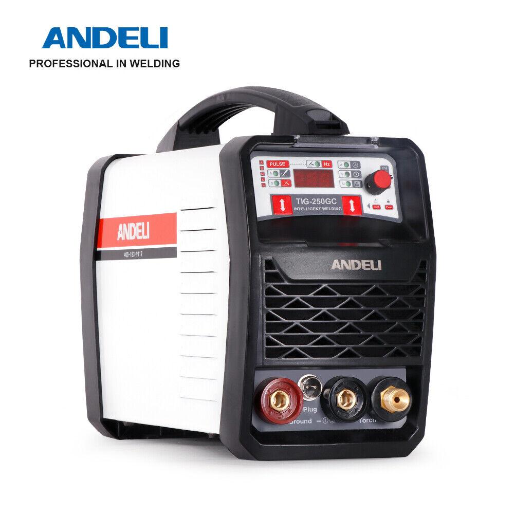 andeli_official_store ANDELI 220V TIG Welding Machine DC Inverter TIG CLEAN Cold Welding TIG Welder