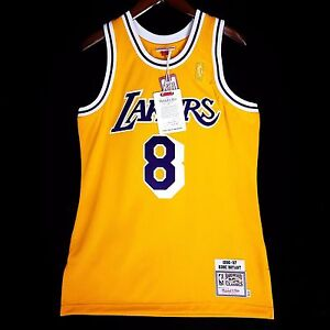 new product d0906 6bbd9 100% Authentic Kobe Bryant Mitchell Ness 96 97 Lakers Jersey ...