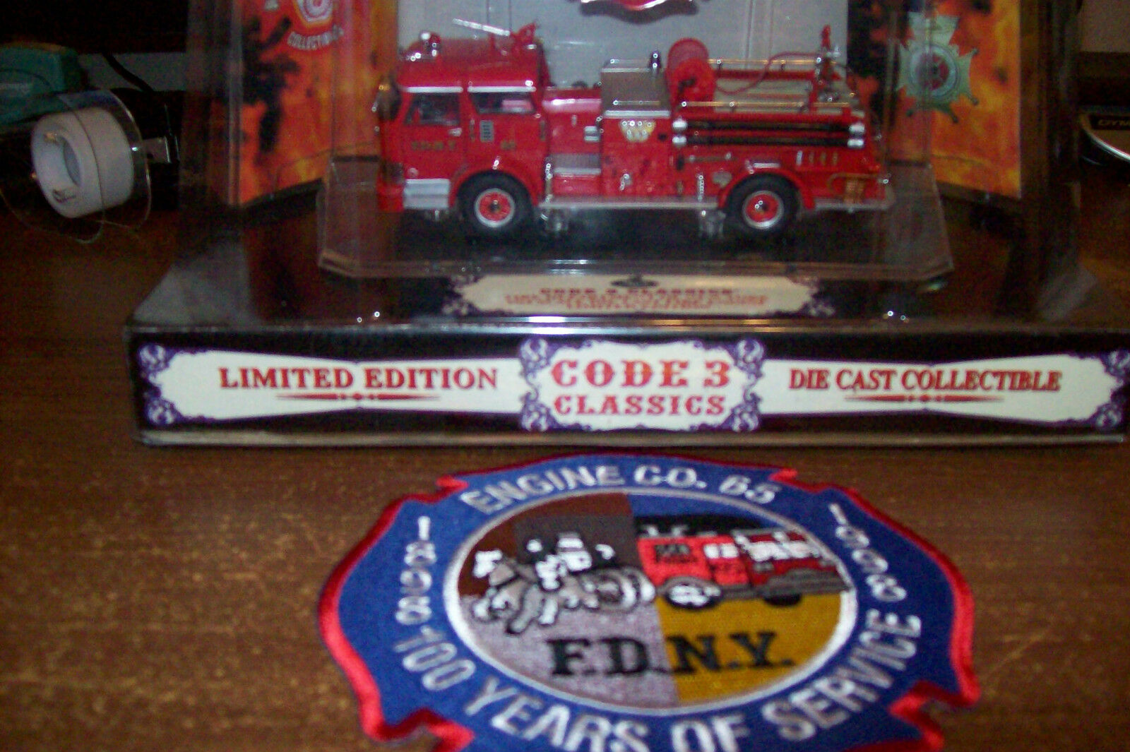 Code 3 Classic -  FDNY FDNY FDNY Fire - Engine-65, New York City + free fire patch d0c47f