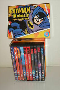 BATMAN 10 CLASSIC Caped Crusader DVDs in BOX - 10 DVD in cofanetto BIG BOX SET
