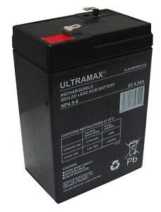 SM64 Smartlite /& RCU7 Lantern Clulite Torch Battery 6-5