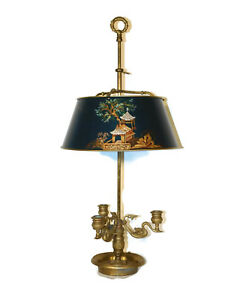 CHAPMAN-Lamp-Co-Chinoiserie-Decorated-Bouillotte-Lamp