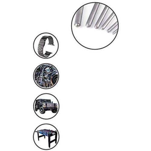 4 Stück Lederverarbeitung Set Loch Stanze DIY Lederhandwerk Leder Meißel