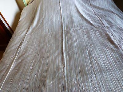 2019 Moda Ancien Dessus De Lit Sommier 80-90cm (1place)beau Tissus ,blanc Cassé B état Essere Distribuiti In Tutto Il Mondo