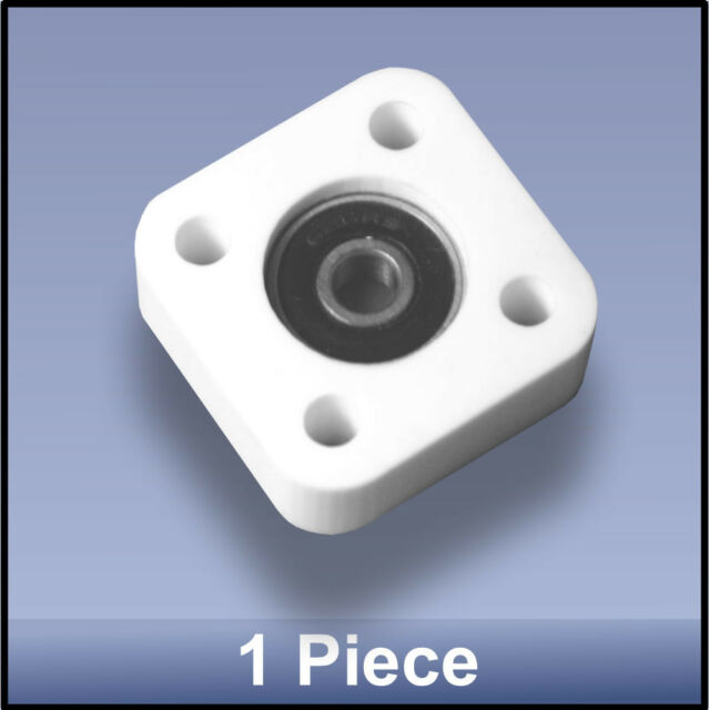 Miniature Quality CNC 6mm 4 Bolt Square Block Flange Bearing Block fs  - 1 piece