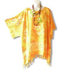 KB616 Batik Women Kimono Plus Size Floral Caftan Kaftan Tunic - 2X, 3X, 4X & 5X