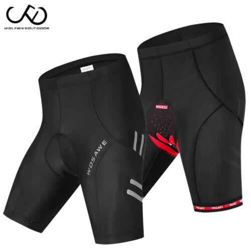 5D Gel Padded Cycling Shorts MTB Road Bike Short Pants Riding Shorts M-3XL
