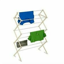 Steel Frame HOMZ Foldable 23 ft Space Clothes Drying Rack 4230033 Rustproof