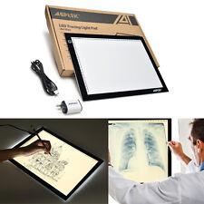 A4 LED Artcraft Tracing Light Pad Box Tatoo Drawing Table Stencil Board Display