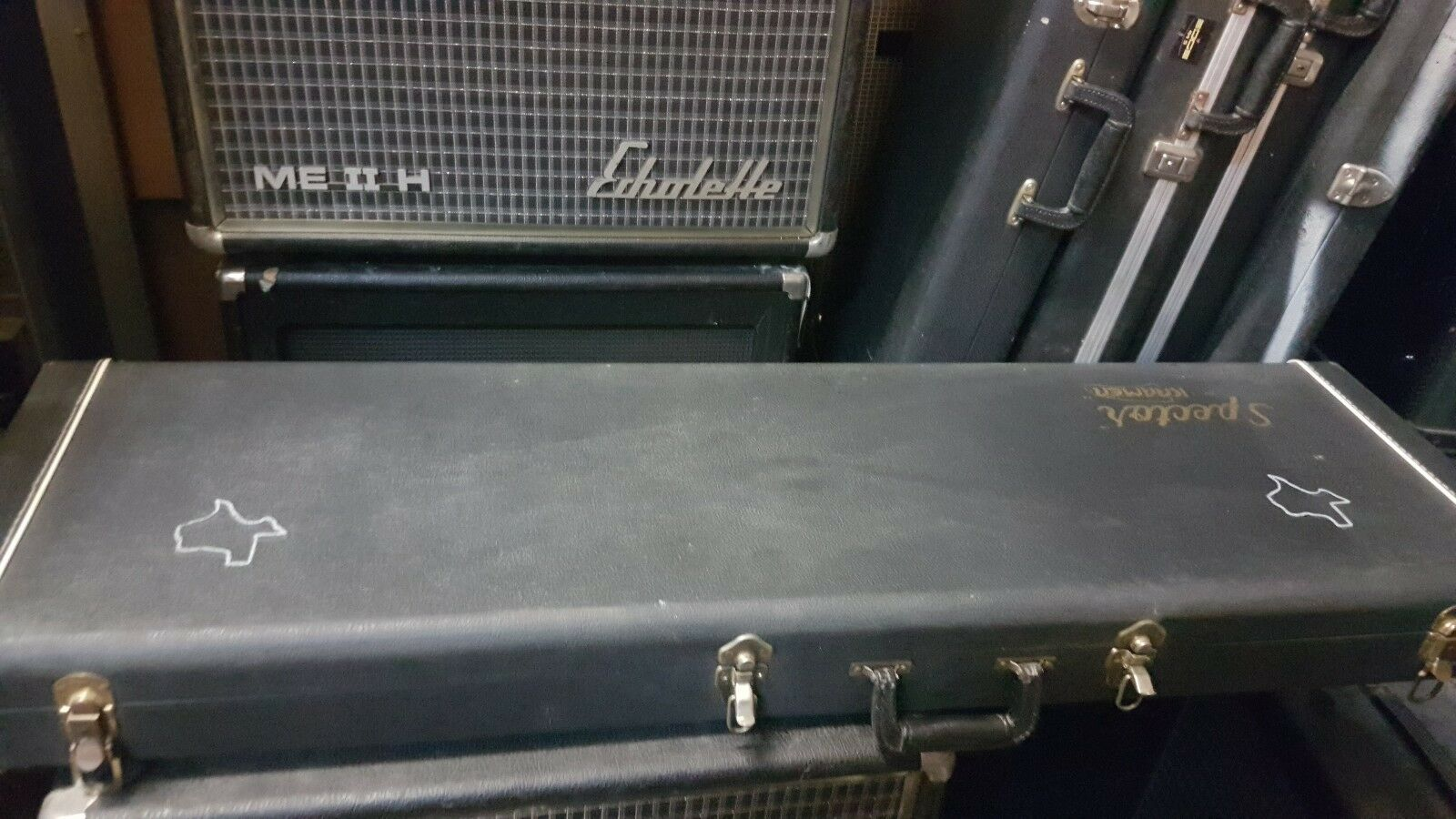 1989 SPECTOR BASS CASE - made in USA