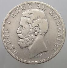 ROMANIA 5 LEI 1881   #t12 145