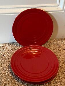 Rachael-Ray-DOUBLE-RIDGE-RED-8-034-Salad-Plates-Set-of-7