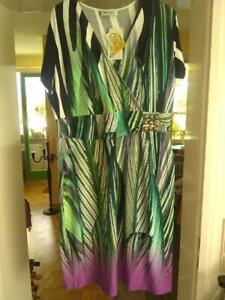 Wunderschones Kleid Ulla Popken Grosse 42 44 Ebay