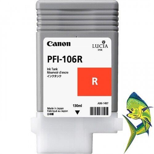 Canon inkjet PFI-106R Red Ink Tank iPF 6400 6400S 6400SE IPF6450 PFI-106 OEM NEW