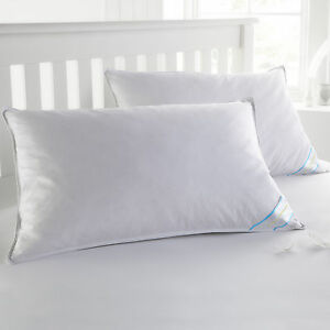 Sweet-Home-Collection-USA-Finished-Standard-Down-amp-Feather-Bed-Pillows-2-Pack