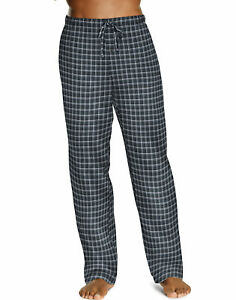 Hanes-Men-039-s-Lounge-Pants-Pajama-ComfortSoft-Cotton-Printed-Drawcord-w-Pockets