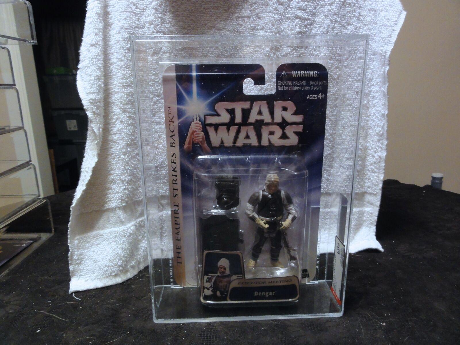 Star - wars - 2004 star wars (Gold dengar afa versiegelt mib - box
