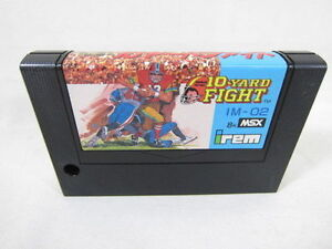 MSX-10-YARD-FIGHT-Cartridge-only-Import-Japan-Video-Game-msx